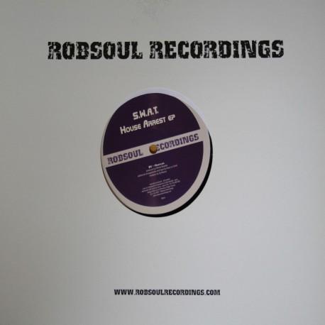 S.W.A.T aka DJ Rasoul - House Arrest EP (vinyl)