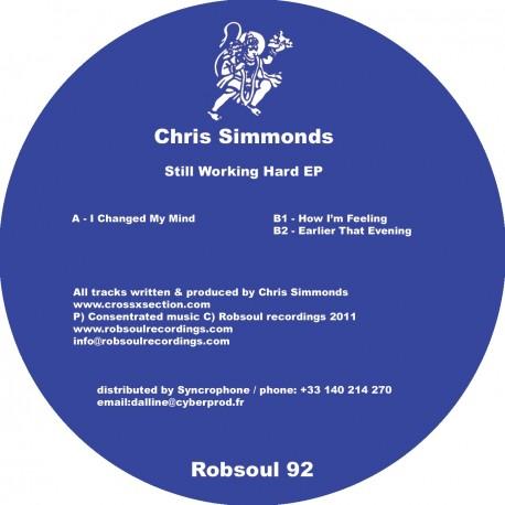 Chris Simmonds - Still Working Hard EP