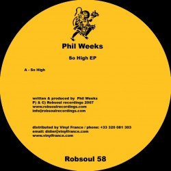 phil weeks, so high ep