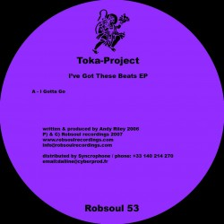 Toka- Project - I've Got These Beats EP
