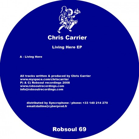 Chris Carrier - Living Here EP