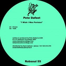 "Pete Dafeet - "" I Wish I Was Parisian"""