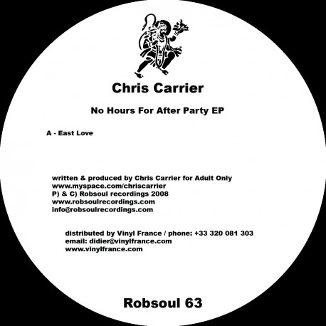 Chris Carrier - No Hours For After Party EP