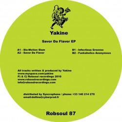 Yakine - Savor Da Flavor EP