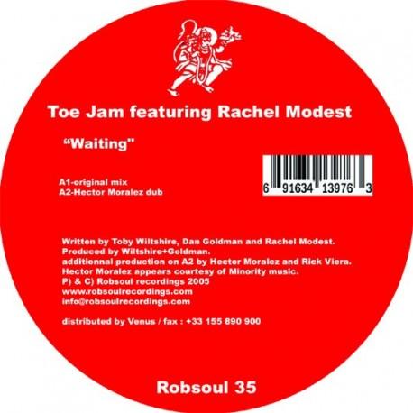 Toe Jam feat.Rachel Modest - Waiting