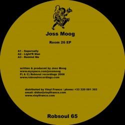 Joss Moog - Room 26 EP