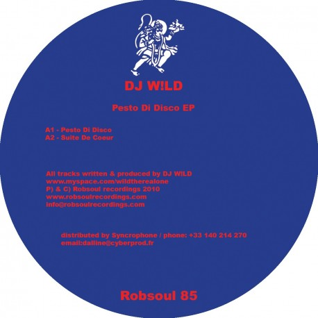 Dj Wild - Pesto Di Disco EP