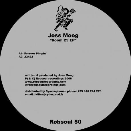 Joss Moog - Room 25 EP