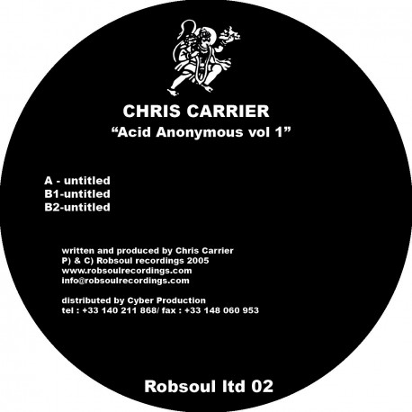 Chris Carrier - Acid Anonymous Vol.1