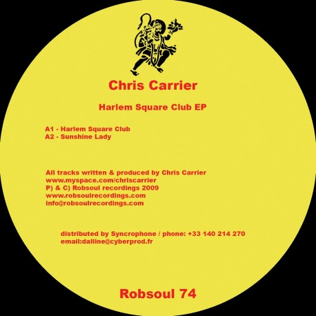 Chris Carrier - Harlem Square Club EP
