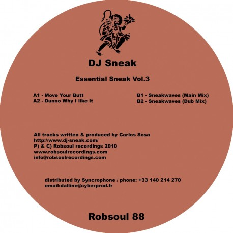 Dj Sneak - Essential Sneak Vol.3