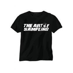 The Art Of Sampling Black Tee