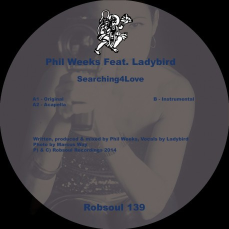 Phil Weeks Feat. Ladybird - Searching4Love (Test Pressing)