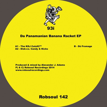93I - Da Panamanian Banana Racket EP (Test Pressing)