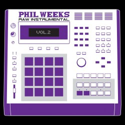 Phil Weeks - Raw Instrumental Vol.2 (CD)